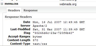 Firebug - nag��wki HTTP