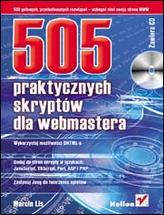 505 praktycznych skryptów dla webmasterów